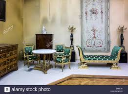 drawing room furniture images. Drawing Room Furniture In French Directoire Style The Cinquantenaire Museum / Jubelparkmuseum Brussels, Belgium Images E