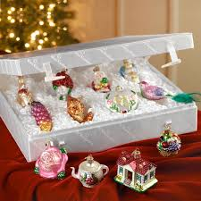 merck family s old world bride s tree glass ornament collection 12 pcs