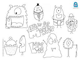 Free Monstre Projets Essayer Pinterest Monstres Coloriage