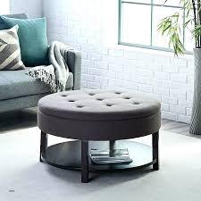 round fabric coffee table tufted ottoman australia new top