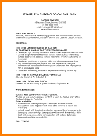 Resume Skills For High School Students With Examples