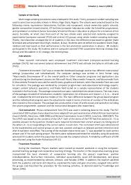 effectiveness of computer assisted stad cooperative learning strategy  4 n online