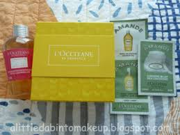 among the items i was most excited to try the 30ml 1fl oz of immortelle make up remover which was another cleansing oil i d been eyeing from l occitane