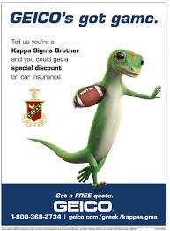an insurance company for your car and more geico geico provides kappa sigma s kappa sigma fraternity