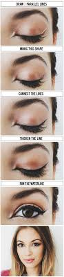 makeup easy eyeshadow tutorialmakeup tutorial eyelinereasy eyelinercat