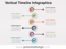 Timeline Template Vertical Timeline Template Free Vertical Timeline For Powerpoint