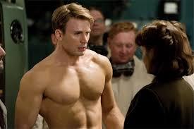 chris evans captain america workout