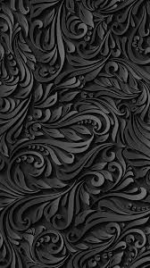 Black Pattern Wallpaper Inspiration 48 Download Black Pattern IPhone Wallpaper Full Size Wallpaper