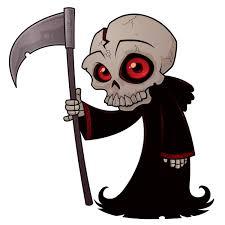 ᐈ cartoon grim reaper stock vectors