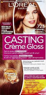 ľoréal Casting Creme Gloss 723 Mléčny Karamel Barva Na Vlasy