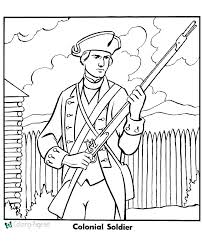 Army Coloring Pages Printable Awesome Soldier Coloring Page Military