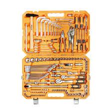 <b>Набор инструментов универсальный 132</b> предмета, пласт.кейс
