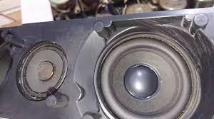 2 thanh loa mắt mèo Tivi Sony bass 8cm