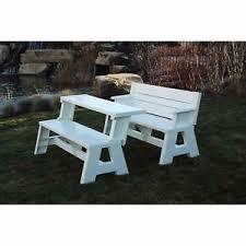 versatile furniture. Image Is Loading Versatile -Outdoor-Bench-Convertible-Picnic-Table-Wood-Patio- Versatile Furniture