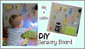 DIY SENSORY BOARD \ BABY & TODDLER LEARNING TOY - YouTube