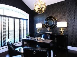 paint colors for an office. Nervous Orb Chanddelier Above Desk And Chair Plus Dark Office Paint Color Wall Colors For An