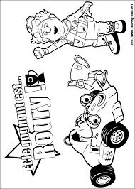 Small Picture Roary The Racing Car Coloring Book Coloring Pages