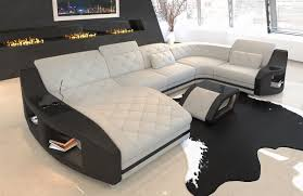 Palm Beach Designer Fabrics Fabric Sectional Sofa Palm Beach U Shape