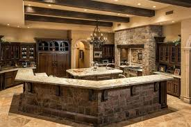 rustic kitchen countertops rustic style kitchen with custom breakfast bar and granite counters rustic ideas for kitchen countertops rustic kitchen with