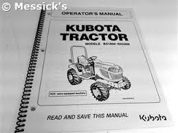 kubota bx2350 parts bx1850 bx2350 operators manual