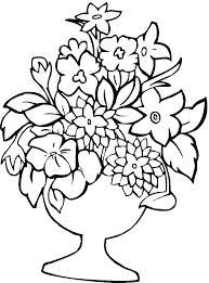 Free Coloring Pages Of Flowers Coloring Pages Of Flowers And