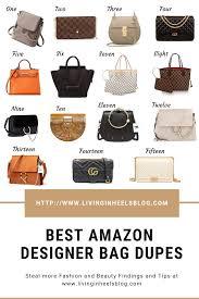 Designer Canvas Crossbody Bag Best Amazon Designer Bag Dupes Purses Handbags Fashion