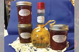 prioress sister maria goretti deangeli of st scholastica monastery in fort smith makes a variety of flavors for her vinegar jams and jellies