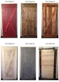 new barn wood door designs from prairie barnwood