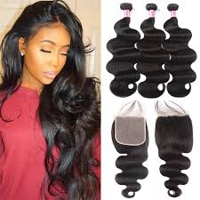 Hair Length Chart Weave Unice Hair Icenu Series Brazilian Hair Weave 3 Bundles With Closure 6x6 Body Wave Bundles With Lace Closure Human Hair Virgin Hair Extension