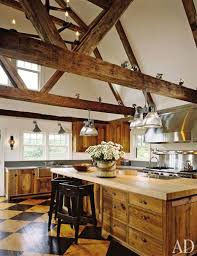 Rustic french country kitchens American Kitchen Antique Beams Crisscross Nantucket Kitchen Designed By Karin Blake And The Nantucket Architecture Group Sousmonarbrecom 29 Rustic Kitchen Ideas Youll Want To Copy Architectural Digest