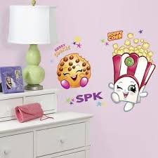 image is loading shopkins kooky cookie giant wall decals mural room  on poppy wall art stickers with shopkins kooky cookie giant wall decals mural room decor stickers