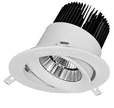 profession factory cob down light led round 5 inch recessed 30 watt led down light fixtures for home and market