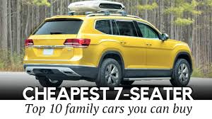 12 est 7 seater suv cars to in