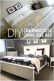 farmhouse king bed farmhouse king bed plans easy bed frame projects you can build on a farmhouse king bed farmhouse bed plans