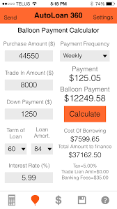 Baloon Payment Calculator Pantera Apps Inventory Order 360