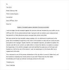 letter essay complaint restaurant formal letter essay complaint restaurant