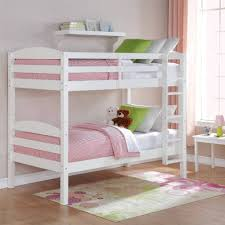 girls white bunk beds. Beautiful Beds Bunk Beds Twin Over Kids Furniture Bedroom Ladder Wood Convertible  White Intended Girls R