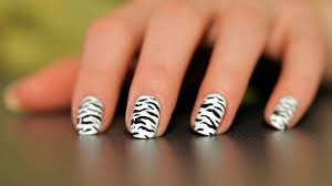 How to Do a Zebra Nail Art Design | Howcast - The best how-to ...