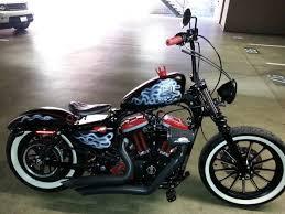 2012 custom bobber sportster iron 883 1200cc harley davidson