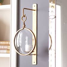 Wisteria Industrial Iron Wall Sconce