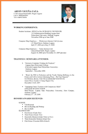 How A Resume Supposed To Look Resume For Your Job Application