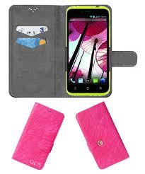 Panasonic P11 Flip Cover by ACM - Pink ...