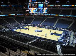 Fedex Forum Memphis Seating Chart Fedexforum Seat Views Section By Section