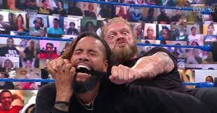 Edge Taunts Roman Reigns with Jimmy Uso ...