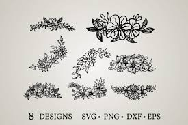 1609 flower vectors & graphics to download flower 1609. 59 Flower Border Svg Designs Graphics
