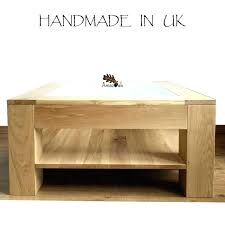 oak and glass table oak and glass coffee table oak glass display coffee table oak glass