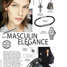 masculine elegance swarovski elements