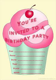 Print Birthday Invitation Free Birthday Party Invites For Kids In High Print Quality