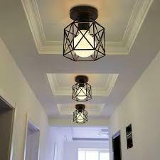 vintage hallway ceiling light black