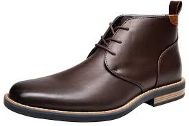 shenbo jousen men s chukka classic simple style oxford dress boots